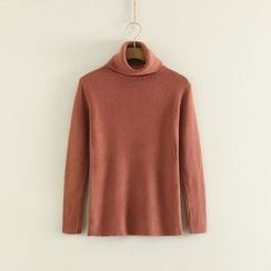 Mushi - High Neck Sweater