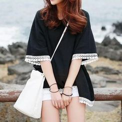 Jolly Club - Lace Trim Tunic