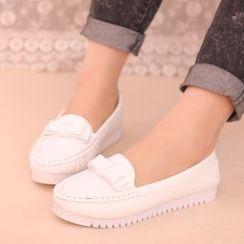 IYATO - 蝴蝶結樂福鞋