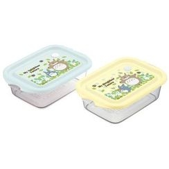 Skater - My Neighbor Totoro Seal Box (2 Pieces Set) (Blue)