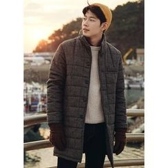 JOGUNSHOP - Quilted Wool Coat