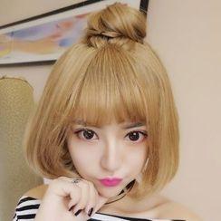 Princess Pea - 短款假髮 - 直髮