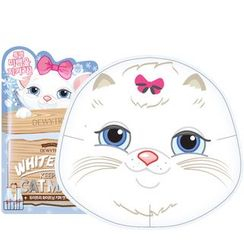 DEWYTREE - Whitening Keeper Cat Mask 10pcs