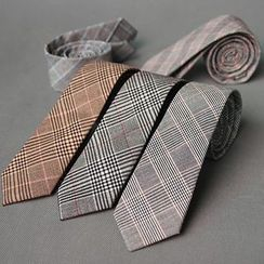 Puddingbird - Plaid Necktie