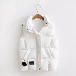 Snow Goose - Padded Zip Vest