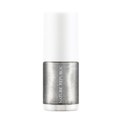 Nature Republic - Color And Nature Nail Color (#40 Silver Dress)