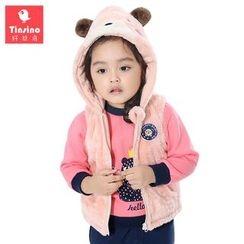 Tinsino - Baby Hooded Fleece Vest