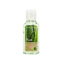 Nature Republic - Hand And Nature Sanitizer Gel (Ethanol) - Aloe 30ml