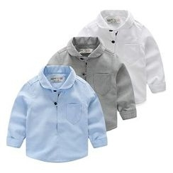 WellKids - Kids Long-Sleeve Plain Shirt
