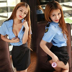 Merone - Policewoman Party Costume