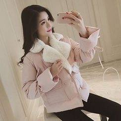 lilygirl - Double-Breasted Padded Jacket