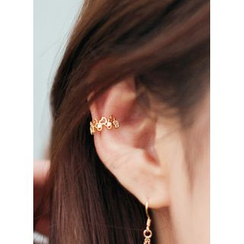kitsch island - Heart Pattern Ear Cuff