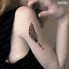Neeio - Waterproof Temporary Tattoo (Feather)
