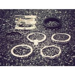 Ticoo - Set of 7: Stacking Ring
