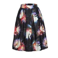 Flore - Printed Skirt