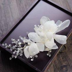 constello - 珠饰碎花婚礼发夹
