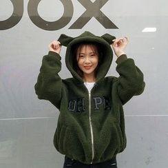FancyMe - Rabbit Ear Fleece Hooded Jacket