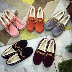 Chryse - 仿麂皮莫卡辛鞋