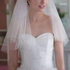 Sky n Sea - Mesh Wedding Veil