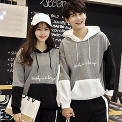 belle epoque - Couple Matching Lettering Hoodie