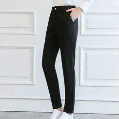 Q.C.T - 纯色修身裤