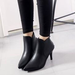 Chryse - Pointed Heeled Ankle Boots