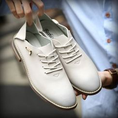 Hipsteria - 仿皮系带日常鞋
