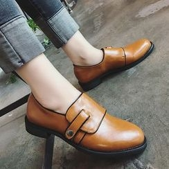 時尚麥樂 - 粗跟樂福鞋