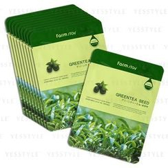 Farm Stay - Visible Difference Mask Sheet (Greentea Seed)