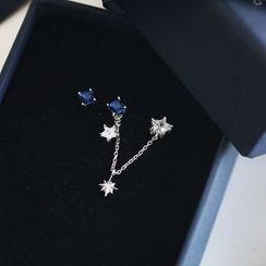 Love Generation - Star Non-Matching Earrings