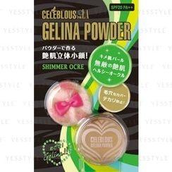 BCL - Celeblous Gelina Powder SPF 20 PA++ (Shimmer Ocre)