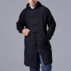 Sparrow Farm - Fleece-lined Hooded Padded Coat