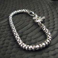 Sterlingworth - Hand Made Sterling Silver Chain Bracelet