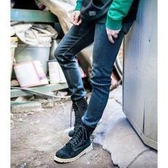 ABOKI - Wahsed Blue Jeans