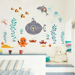 LESIGN - Ocean Wall Stickers