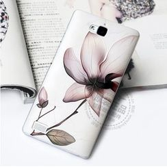 Kindtoy - Flower Print Huawei Honor 3C Case