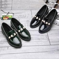 Tina Nini - 仿珍珠樂福鞋