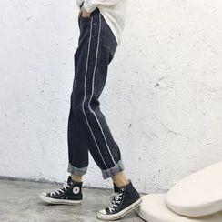 Kojasmine - 修身九分牛仔褲