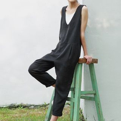 Plum Forest - Sleeveless Jumpsuit