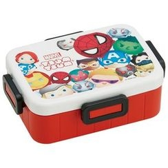 Skater - Tsumu Tsumu MARVEL 4 Lock Lunch Box