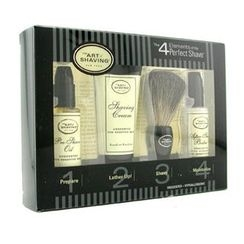 The Art Of Shaving - Starter Kit - Unscented: Pre Shave Oil + Shaving Cream + Brush + After Shave Balm