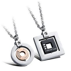 Andante - Couple Matching Necklace
