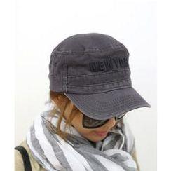 DANI LOVE - Lettering-Front Cotton Cap