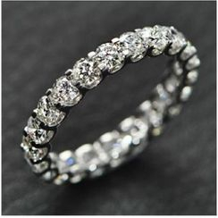 Nanazi Jewelry - Rhinestone Ring (3mm)