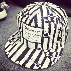 BYME - 條紋棒球帽