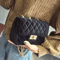 薇薇 - 绗缝链条带斜挎包