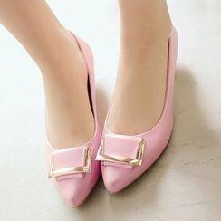 Sidewalk - 尖头平跟鞋