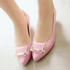 Sidewalk - 尖頭平跟鞋