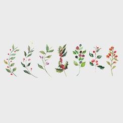 Tattoofield - Floral Waterproof Temporary Tattoo