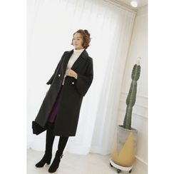 Lemite - Bell-Sleeve Double-Breasted Coat
